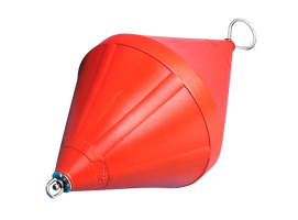 Nuova Rade 103 cm Orange Mooring Buoy with Rod