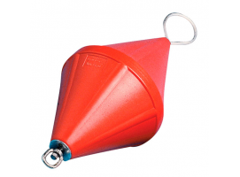 Nuova Rade 66 cm Orange Mooring Buoy with Rod