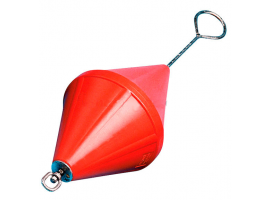 Nuova Rade 88 cm Orange Mooring Buoy with Rod