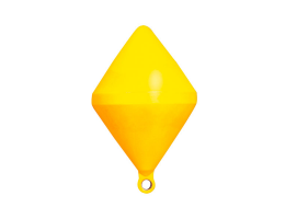 Nuova Rade Yellow Bi-conical Marking Bouy