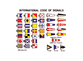 Nuova Rade International code signals