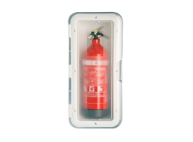 Nuova Rade Storage Case Fire Extinguisher with Transparent Door