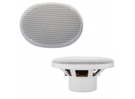 Osculati 3-way coaxial speakers 140W