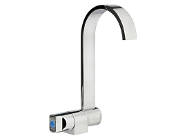 Osculati Style mixers with swivelling faucet cold water