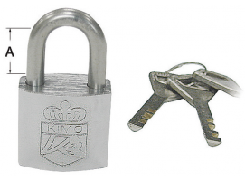 Osculati Set of 4 Marine Padlocks