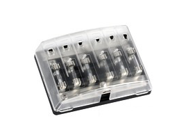 Osculati Glass fuse holder box