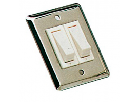 Osculati Stainless Steel Wall Switch