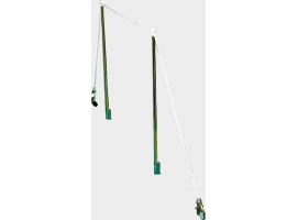 Osculati Gangway Stanchions Kit 3.10 m