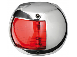 Osculati Stainless Steel Compact 12 Left Navigation Light