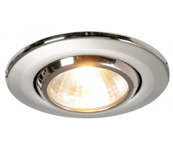 Osculati Ceiling Light Merope in Polished Stainless Steel