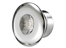 Osculati LED Courtesy Light for Recess Mounting AISI 316