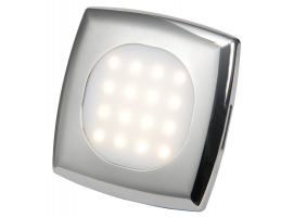 Osculati Square LED Ceiling Light for recess Mounting
