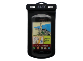 Over Board Waterproof Big Phone Flip Case Black