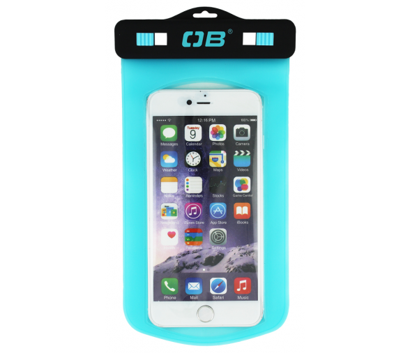 Over Board Small Phone Case Aqua