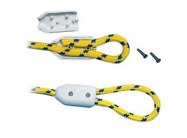 Pack 2 Rope Plastic Clamps