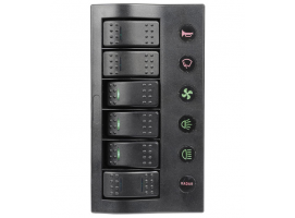 PCP LED Electrical Panel with 6 Switches