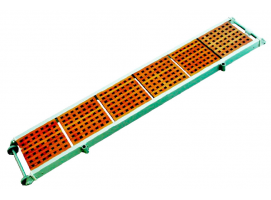 GANGWAY WITH WOOD GRATING 230 cm