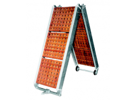 FOLDING GANGWAY WITH WOOD GRATINGS 190 cm