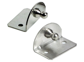 Fastening Flat Plates 90 Degrees Version with Ball Pin