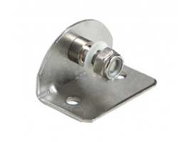 Fastening Flat Plates 90 Degrees Version with Threaded Pin