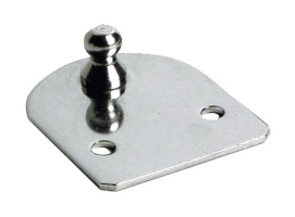 Fastening Plates Flat Version with Ball Pin