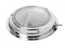 Led Dome Light in Stainless Steel