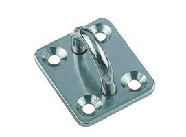 SQUARE PAD INOX 4 SCREWS VINOX
