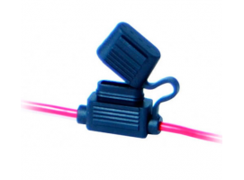 Watertight Blade Fuse Holder with 2 Cables