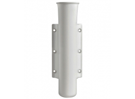 White Wall Mount Rod Holder