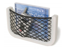 Case with Net and Plastic Frame Store-All