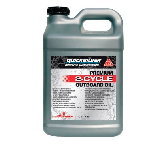 Quicksilver 10 Litres Premium 2 Stroke TC-W3 Engine Oil