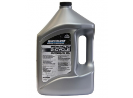 Quicksilver 4 Litres Premium Plus 2 Stroke TC-W3 Engine Oil