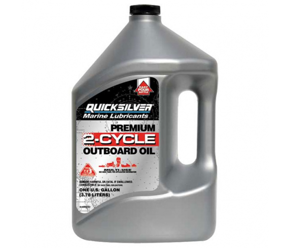 Quicksilver 4 Litres Premium 2 Stroke TC-W3 Engine Oil
