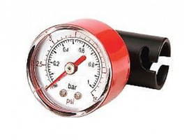 Quicksilver Manometer for Double Action Hand Pump