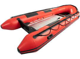 Quicksilver 365 Sport HD Pneumatic Boat RED