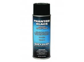 Quicksilver Phantom Black Mercury-MerCruiser Spray Paint