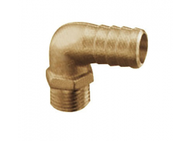 Brass Hose Adaptor 90 Degrees Male Version