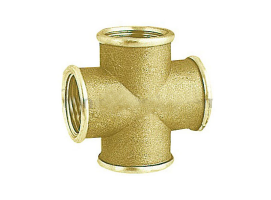 Cross T Brass Joint