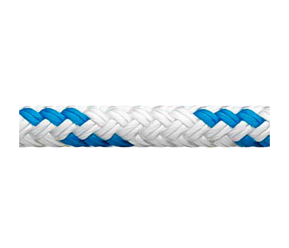 White-Blue Regatta Star Cup Rope