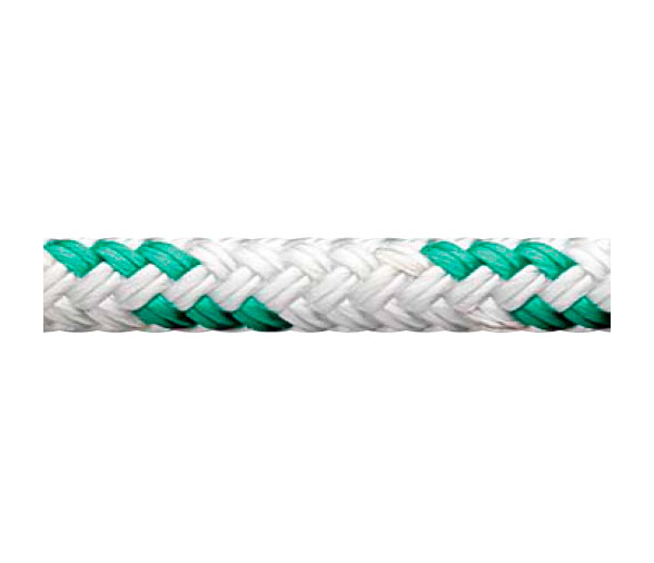 White-Green Regatta Star Cup Rope