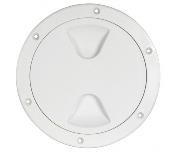 White Round Inspection Cover