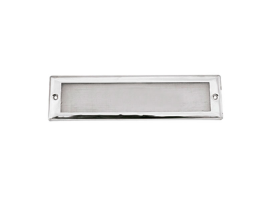 212 x 57 mm Inox Louvered Vent