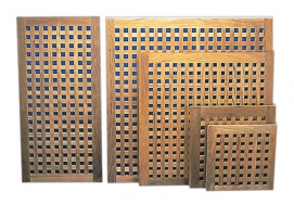 Teak Rectangular Gratings for shower