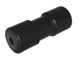 Central Black keel roller with iron core