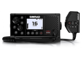 Simrad RS40-B fixed-mount DSC VHF Radio with integrated AIS