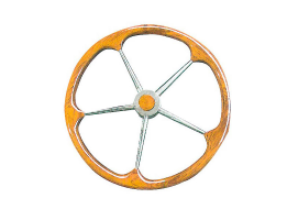 Steering Wheel with Teak External