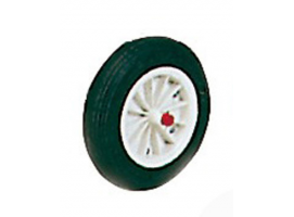 Replacement rubber wheel for carrier