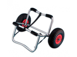 KAYAK TROLLEY WITH PNEUMATIC WHEELS TREM