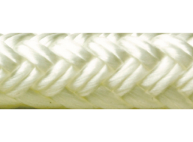 Seachoice Rope Mooring of Double Braided Nylon White 9.5 mm