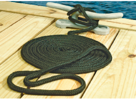 Seachoice Rope Mooring of Double Braided Nylon Black 16 mm